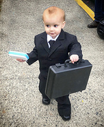 Boss Baby Joey Homemade Costume