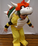 Bowser from Mario Bros. Homemade Costume