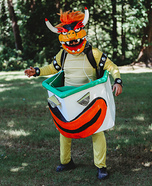 Bowser Mario Kart Homemade Costume