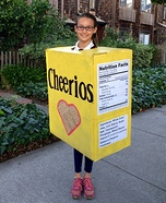 Box of Cheerios Homemade Costume