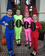 Crayolas Group Costume