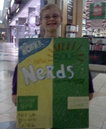 Box of Nerds Homemade Costume