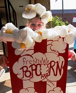 Box of Popcorn Homemade Costume