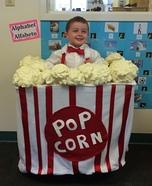Box of Popcorn Homemade Costume