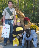 Boy Scout Insect Study Badge Homemade Costume