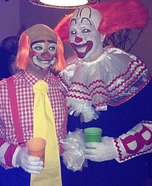 Bozo and Cooky Homemade Costume