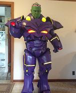 Brainiac Homemade Costume
