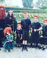 Brave Family Homemade Costume