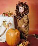 Brave Little Lion Homemade Costume