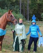 Brave Trio Homemade Costume