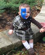 Braveheart Baby Homemade Costume