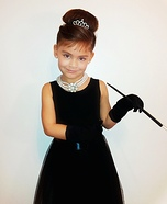 Halloween costume ideas for girls: Breakfast at Tiffany's Homemade Costume