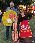 Breakfast Family Homemade Costume