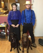 Breaking Amish Couples Costume