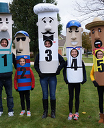 Brewers Racing Sausages Homemade Costume
