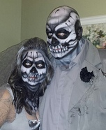 Bride and Groom of the Dead Homemade Costume