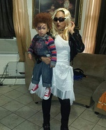 Bride & Chucky Homemade Costume