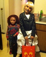 Bride of Chucky Girl's Costume