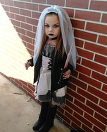 Bride of Chucky Tiffany Homemade Costume