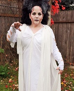 Women's Bride of Frankenstein Costume