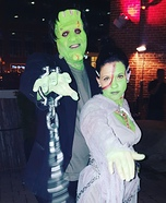 Bride of Frankenstein Homemade Costume