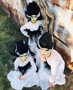 Brides of Frankenstein Homemade Costume