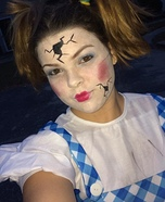 DIY Broken Doll Costume