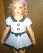 Broken Doll Homemade Costume for Girls