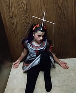 Broken Marionette Doll Homemade Costume