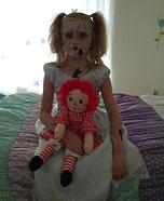 Broken Porcelain Doll Homemade Costume