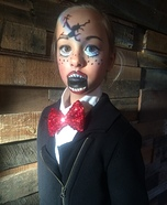 Broken Ventriloquist Doll Homemade Costume