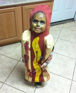 The Hotdog Zombie Costume
