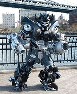 Brooklyn Ironhide Transformer Costume
