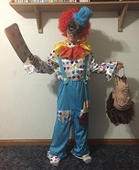 Brother Clowns Homemade Costume