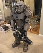 Brotherhood of Steel Power Armor Homemade Costume