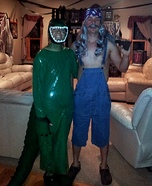 Bruce and Gator Couple Costume