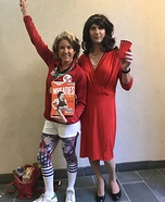 Bruce and Caitlin Jenner Homemade Costume