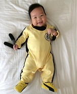 Cute baby costume ideas: Bruce Lee Baby Homemade Costume