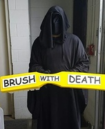 Brush With Death Homemade Costume