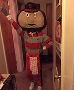 Brutus the Buckeye Homemade Costume