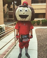 Brutus the Buckeye Boy Costume