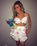 Creative DIY Costume Ideas for Women - Bubble Bath Costume