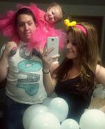 Bubble Bath Family Homemade Costume