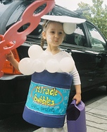 DIY Bubble Girl Costume
