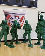 Bucket of Soldiers Homemade Costume