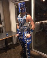 Bud Knight Homemade Costume