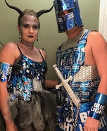 Bud Knight & Bud Dragon Homemade Costume