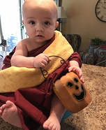 Buddhist Monk Homemade Costume