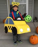 Bug Car Taxi Homemade Costume