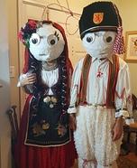 Bulgarian Doll Martenitsi Homemade Costume